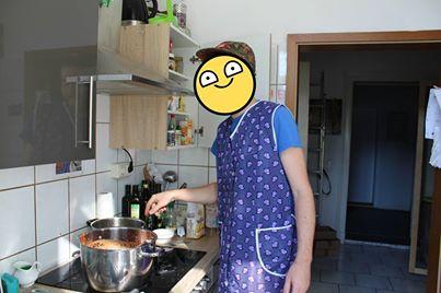 Auch du hälst die Küche sauber!