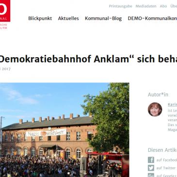 DEMO – Die Fachzeitschrift für Kommunalpolitik