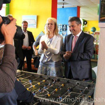 Besuch von Außenminister Sigmar Gabriel