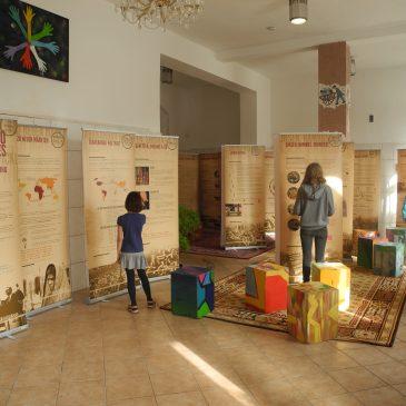 Ausstellungseröffnung im Demokratiebahnhof