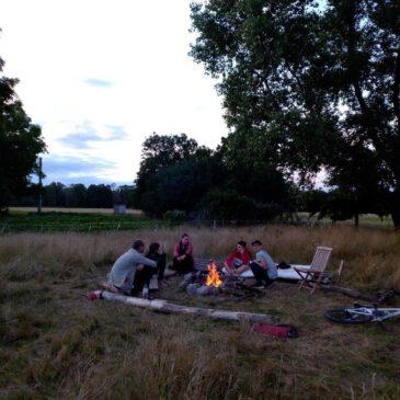 Unter freiem Himmel – Zelten auf einem Selbstversorgerhof